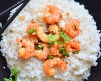 Andaman Style Steamed Garlic Prawns Recipe