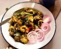 Andhra Style Green Chilli Chicken Recipe