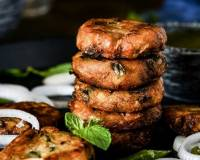 Hyderabadi Chicken Shikampuri Kebab Recipe