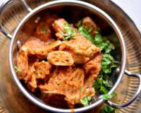 Kashmiri Kokur T Nadir Recipe-Chicken and Lotus Stem Curry