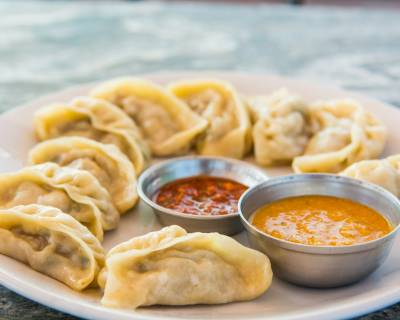 Chicken Momos Recipe -Delicious Steamed Chicken Dumplings