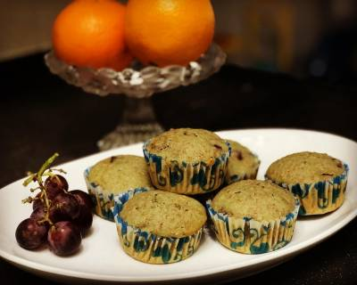 Grapes Muffin Recipe