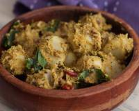 Khatti Arbi Ki Sabzi Recipe - Colocasia In Yoghurt Curry