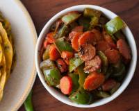 Carrot & Capsicum Sabzi Recipe