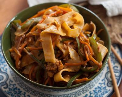 Spicy And Delicious Chicken Teriyaki Noodle Recipe