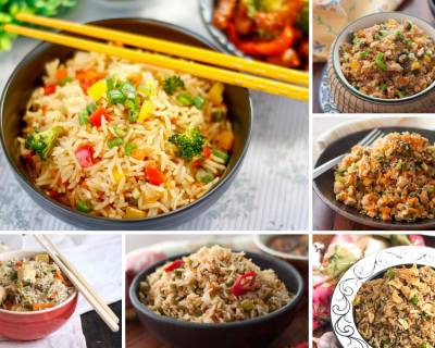 Stir Up These Lip Smacking Vegetarian Fried Rice Recipes For Dinner