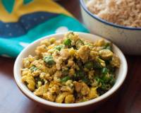 Green Beans Egg Scramble Recipe