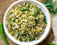 Green Moong Dal Sundal Recipe