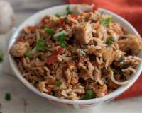 One Pot Chicken Nasi Goreng Recipe
