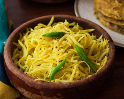 Raw Papitha No Sambharo Recipe