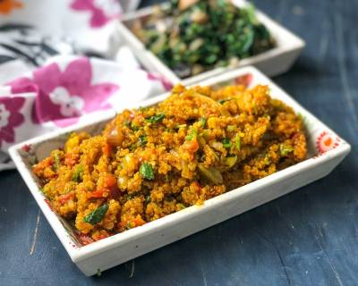 South Indian Style Tomato Quinoa Recipe