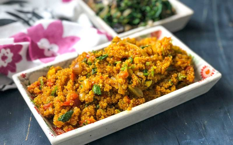 Archanas kitchen simple recipes cooking ideas south indian style tomato quinoa recipe forumfinder Image collections