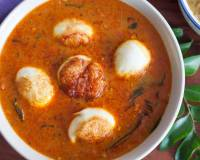 Sri Lankan Style Fried Egg Curry Recipe