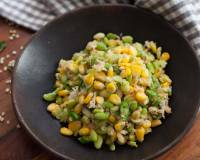 Sweet Corn & Avarakkai Sundal Recipe