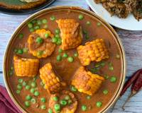 Corn And Peas Curry Recipe