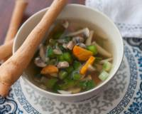 Vegetable Clear Soup Recipe