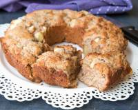Apple Almond Cake Recipe | With Eggless Version