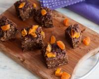 Apricot Muesli Coffee Slice Recipe