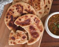 Awadhi Style Sheermal Recipe - Sweet Flat Bread