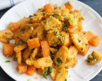 Baby Corn Carrot Sabzi Recipe