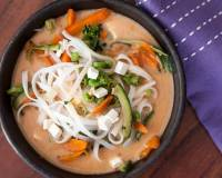 Bangkok Coconut Curry Noodle Bowl Recipe