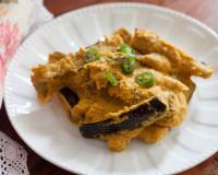 Begun Basanti Recipe - Eggplant In Mustard Yogurt Curry