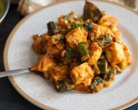 Bhindi And Paneer Masala Recipe