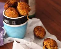 Carrot, Sweet Potato, Mushrooms Fritters Recipe