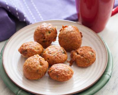 Chicken Pakora Recipe - Chicken Fritters