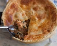 Chicken and Mushroom Pot Pie Recipe