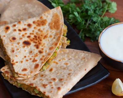Chickpea and Broccoli Quesadilla Recipe