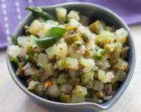 Chow Chow And Beans Poriyal Recipe