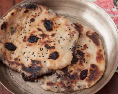 Cranberry Whole Wheat Naan Recipe