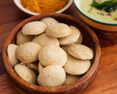 Foxtail Millet Idli Recipe - Healthy Indian Diabetic Idli Recipe