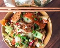 Fujian Style Green Vegetables Stir Fry Recipe