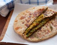 High Protein Broccoli and Dill Stuffed Paratha Recipe