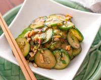 Hunan Style Smacked Cucumber Pickles Recipe