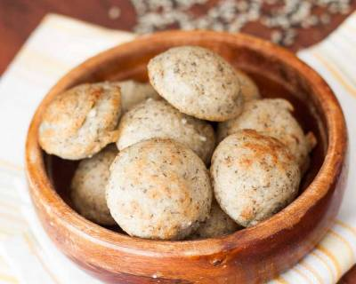 Karwar Style Yerappe Ani Recipe- Rice and Black Split Gram Fried Dumpling