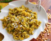 Maharashtrian Style Kairichi Dal Recipe (Chana Dal and Raw Mango Hash)