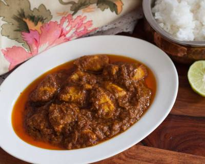 Mangalorean Chicken Ghee Roast Recipe