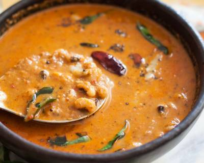 Mangalorean Style Lobia Gassi Recipe (Black eyed peas in Coconut Curry Recipe)