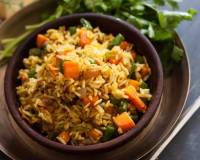 Manipuri Style Chak Angouba Recipe - Vegetable Pulao Recipe