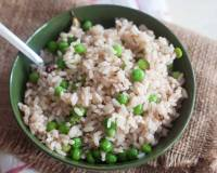 Matta Rice Peas Pulao Recipe