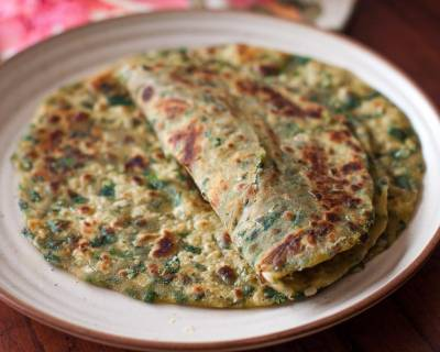 Methi Lachha Paratha Recipe