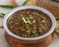 Methi Masoor Dal Recipe With Whole Masoor