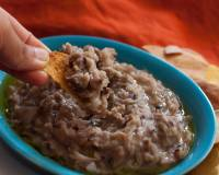 Mexican Style Frijoles Refritos Recipe-Refried Beans