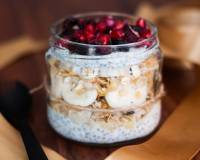 Muesli Chia Seed and Dry Fruit Jar Recipe