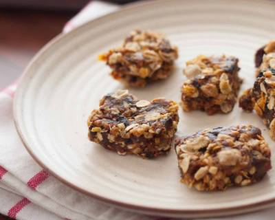 Muesli Peanut Butter Energy Bars Recipe