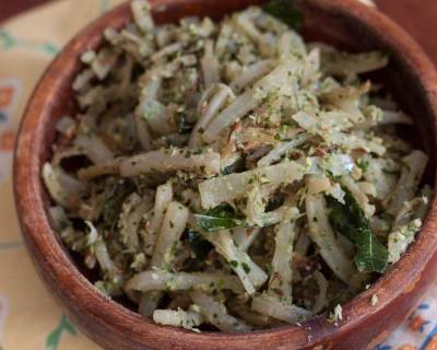 Mulangi Thoran Recipe - Radish Stir Fry With Coconut