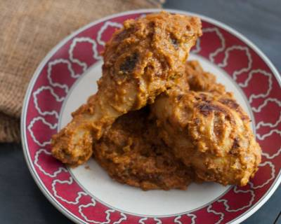 Murgh Musallam Recipe - Masala Roasted Chicken